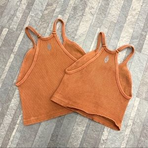 Free People Tops - NWOT Free a People Happiness Taupe Tank